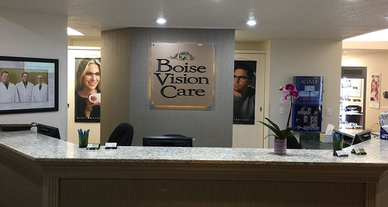 Front Desk at Boise Vision Care